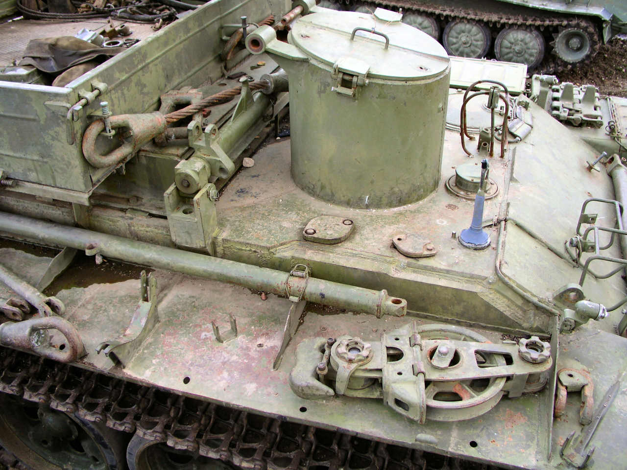 wzt 1 task 2 Unlike the t-55 and the wzt-1, the wzt-2 is still the basic arv of the polish army used for field repairs it can carry out repairs not only on soviet tanks like the t-54/t-55 and t-72 but also on polish pt-91 and german leopard 2a4 tanks.