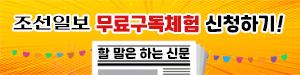 조선일보 구독체험 배너