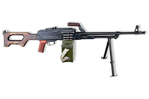 PKM 칼라시니코프 기관총